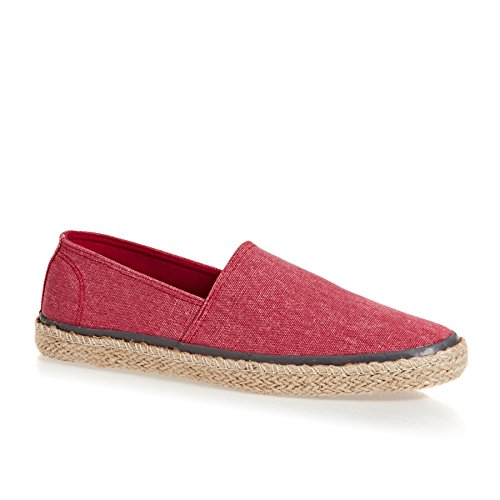 Superdry Adam Espadrilles 43 EU Washed Yacht Red Canvas