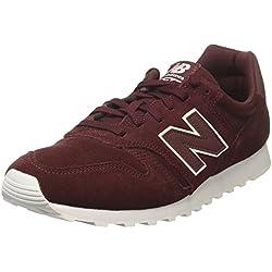 New Balance 373, Zapatillas Hombre, Rojo (Burgundy),
