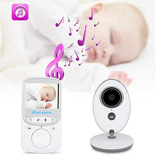 LF Wireless Baby Monitor 2,4G Digital Baby Sicherheitspflege Instrument Stimme Intercom Raumtemperaturüberwachung