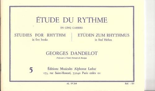 ETUDE DU RYTHME VOLUME 5