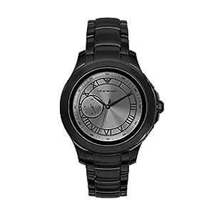 Emporio Armani Vyrams Digital Smart Laikrodis Rankinis Laikrodis mit Edelstahl Armband ART5011