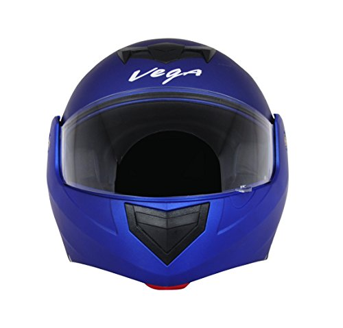 Vega Crux DX Flip-Up Helmet (Dull Blue, M)