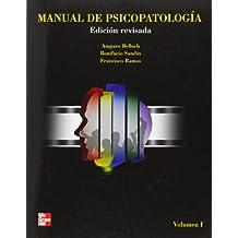 MANUAL DE PSICOPATOLOGIA. VOL. I. EDICION REVISADA Y ACTUALIZADA