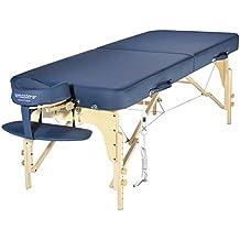 Master Massage Phoenix Mesa de Masaje 71cm Therma Top 2 Sección Portátil Spa Salon Sofá Azul Real