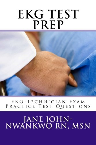 EKG Test Prep Cover Image