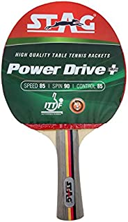 Stag TTTRA 320 Power Drive Table Tennis Racquet, Multi Color