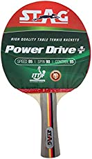 Stag Power Drive Plus Table Tennis Racquet with Wodden Case