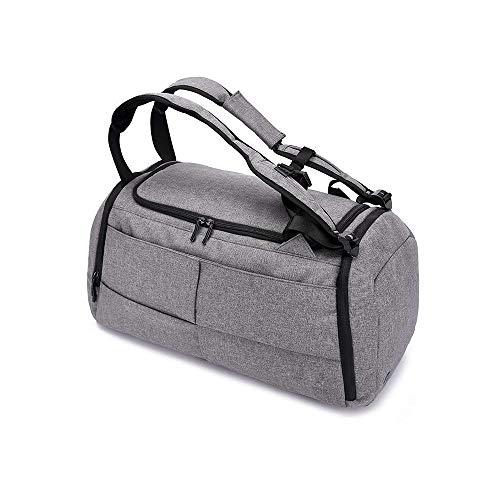 ZXT Business double épaule package sac de transport portable plusieurs méthodes de transport grande capacité voyage courte distance sac à main sac à bandoulière sac de fitness avec verrouillage de séc