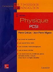 Physique 1e année PCSI