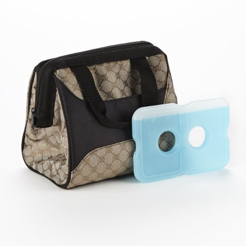 fit-fresh-ladies-downtown-insulated-lunch-bag-with-ice-pack-exterior-pocket-with-zipper-closure-coco
