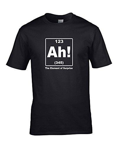 Ice-Tees -  T-shirt - Colletto crew  - Maniche corte - ragazzo Black 12-14 Anni