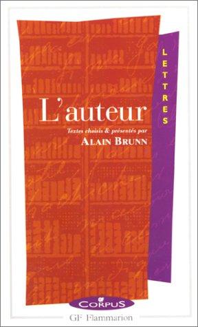 L'auteur par Alain Brunn