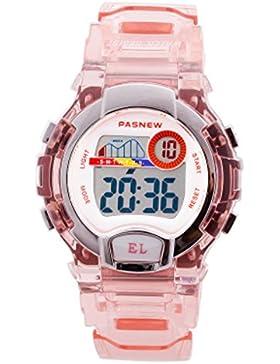 Children's electronic watch wasserdicht multi-funktion digital luminous-E