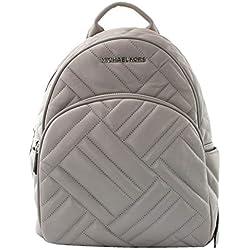 Michael Kors - Bolso mochila para mujer, color Gris, talla M