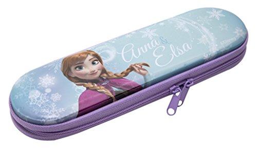 Disney Frozen- Portatodo de Metal con Cremallera (Kids Euroswan WD16920)