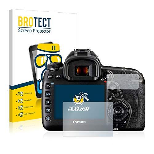 brotect Panzerglas Schutzfolie kompatibel mit Canon EOS 5D Mark IV - AirGlass, 9H Härte, Anti-Fingerprint, HD-Clear