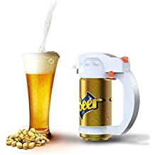 Cocoda Dispensador De Cerveza, Portátil Vibración Ultrasónica Batería Cerveza Cremosa Espuma Servidor Espumador De Cerveza