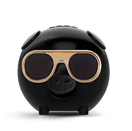CE-LXYYD M60 Schwein Kopf Bluetooth-Lautsprecher, Louder Lautstärke, Crystal Clear Stereo Sound, Rich Bass, 100 Fuß Wireless Range Crystal Bluetooth