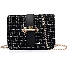 806618425cb QUICKLYLY Bolso Mujer Bandolera Portatil Bolsa Mensajero Tote Shopper  Callejero Bag Tirantes Carteras Mano Compras Mochilas