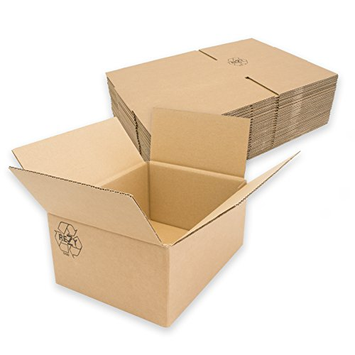 25x Faltkarton Karton 1wellig Innenmass: 200x150x90mm KP125 1.20B Versandkarton