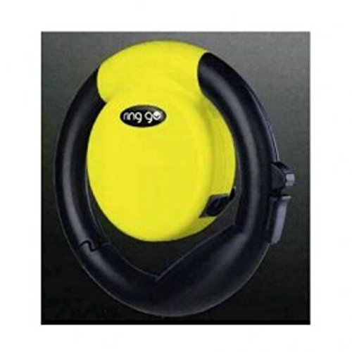 VITAKRAFT ring go - Rollleine, Hundeleine - gelb