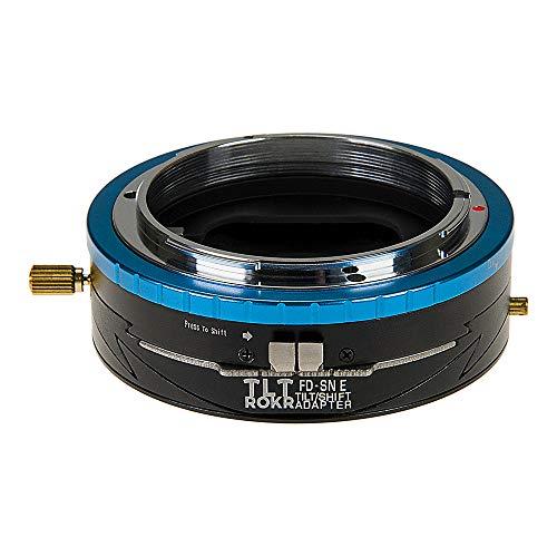 Fotodiox Pro Tlt Rokr Tilt/Shift Lens Mount Adapter for Canon Fd & FL 35mm SLR Lenses to Sony Alpha E-Mount Mirrorless Camera Body Tilt-adapter