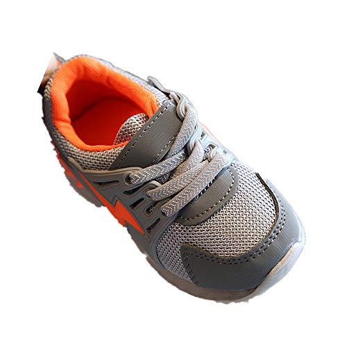 (Beikoard_Babykleidung Babyschuhe mit LED Sportschuhe Kinderschuhe Kleinkind Mesh Turnschuhe Netzschuhe Lauflernschuhe Gift Outdoor Wanderschuhe)