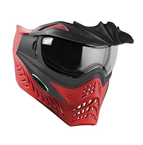 Paintball Maske V-Force Grill SC Scarlet grau/rot -