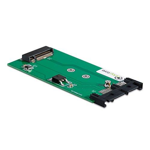 er M.2-SSD an Micro-SATA-Controller 7+9-polig ()
