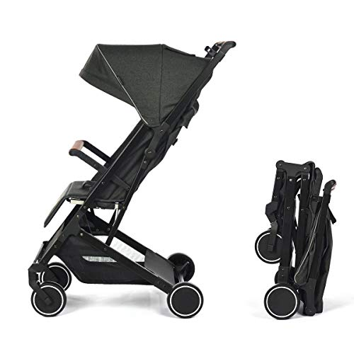 Silla de Paseo Star Ibaby Air Plus/Reclinable con barra de Seguridad - Mango corrido - Ultraligera 6...