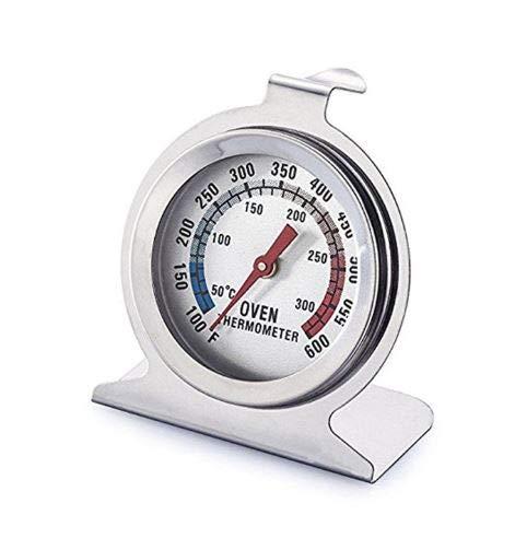 Noondl - Termómetro para horno de ventilador. eléctrico o gas, redondo, lectura...