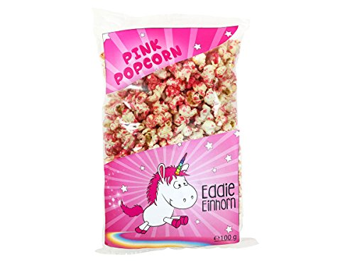 � Pink 100g Tüte Geschenkidee Popcorn-Tüte (Pink Popcorn)