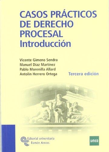 Casos prácticos de derecho procesal (Manuales)