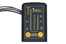 T-Max Sistema commutatore A Doppio Batteria dbs02, con Display Digitale