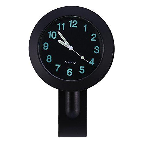 Keenso Motorrad Uhr Wasserdicht Motorrad Lenker Uhr Universal wasserdichte Lenker Uhr 7/8 bis 1 Zoll