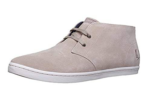Fred Perry Byron Mid Suede Sand