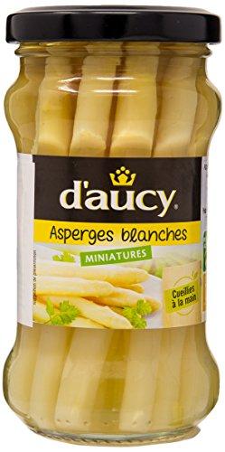 d'aucy Asperges Blanches Miniatures Bocal 190 g