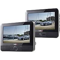 BSL 7D - DVD Portátil para coche, 2 Pantallas (LCD TFT 7 pulgadas)