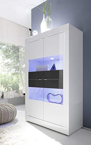 Kasalinea - Stoviglie Bianco Laccato e Antracite Design Ariel 3