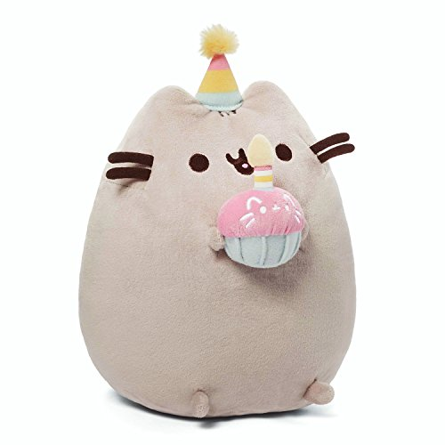 GUND Pusheen Birthday Plush 10.5