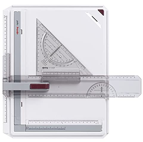 Rotring - S0232710 - Rapid Règle à dessin Assortiment -