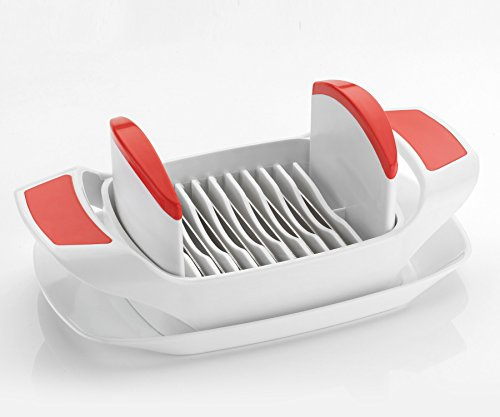 HappyLife item Slice Vegetable Tomato Slicer + Egg Cutter - Salad Maker  available at amazon for Rs.179