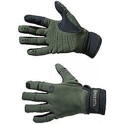 Beretta Guantes Polartec Verde S, Color Gruen, tamaño Extra-Large