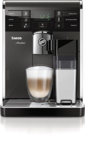 Saeco HD8869/11 Moltio Premium Kaffeevollautomat, austauschbarer Bohnenbehälter, integrierte...