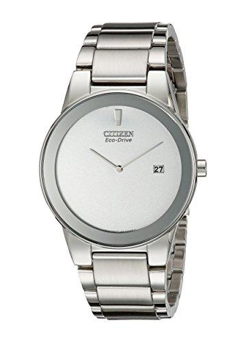 Citizen AU1060-51A - Orologio da polso da uomo, cinturino in acciaio inox colore argento