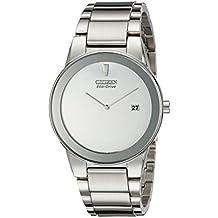 Citizen AU1060-51A - Reloj para hombres, correa de acero inoxidable color plateado