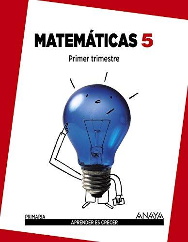 Matemáticas 5. (Aprender es crecer) - 9788467833041