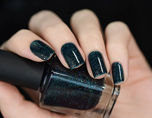 ILNP Cosmetics, Inc. Ilnp Mountain View Forest Green Holographic Nail Polish