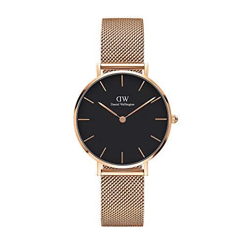Daniel Wellington Damen Erwachsene Digital Quarz Uhr mit Edelstahl Armband DW00100161