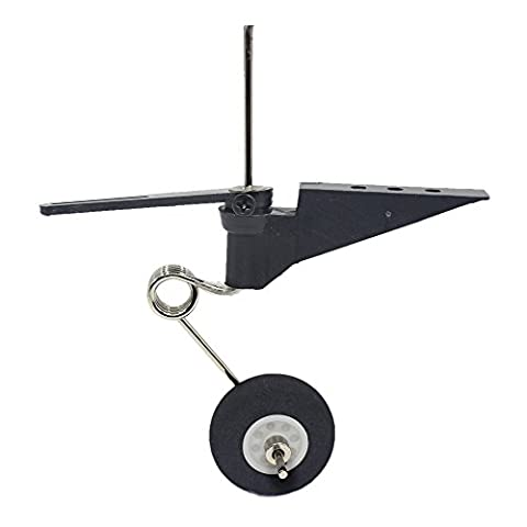 1 Set Tail Wheel Assembly 60x25mm D28 /30 RC Airplane Parts Replacement For Jet 540T Pilot F3A P51